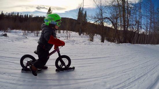 Strider Ski Attachment Set