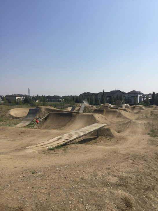 Chestermere bike jumps